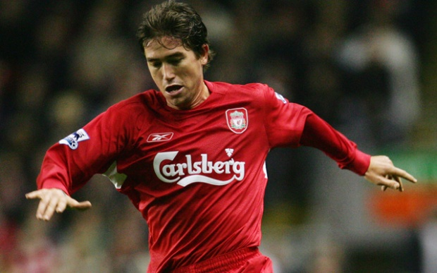 Harry Kewell of Liverpool