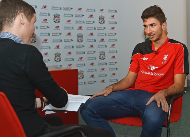 Liverpool Unveil New Signing Marko Grujic